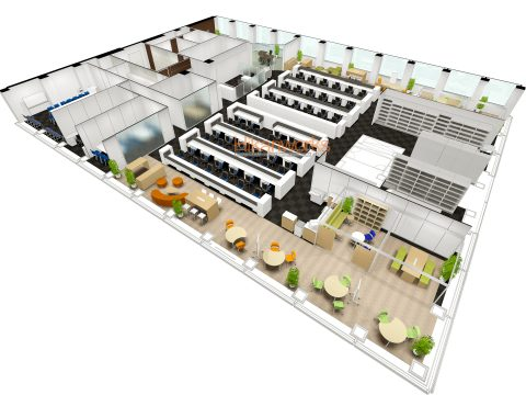 006-Office Rendering