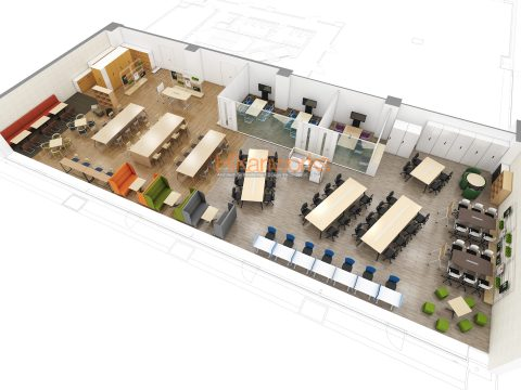 012-Office Rendering