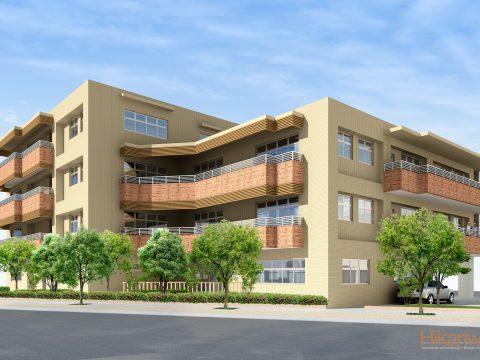 014-Building Exterior Rendering