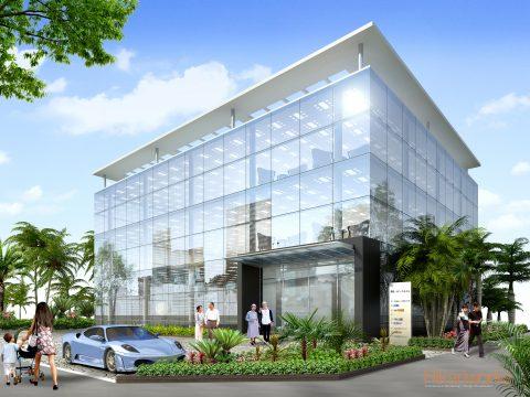 016-Building Exterior Rendering