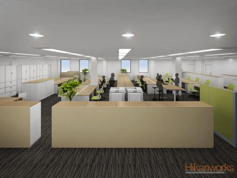 017-Office Rendering