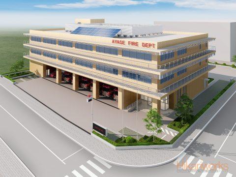019-Building Exterior Rendering