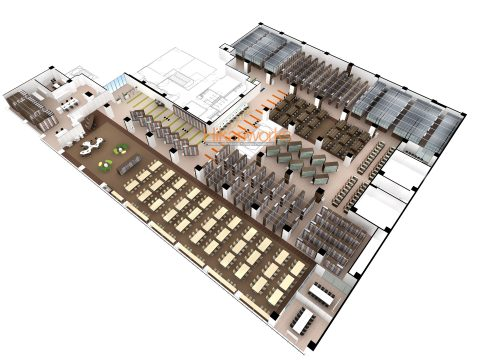 020-Various facilities Rendering