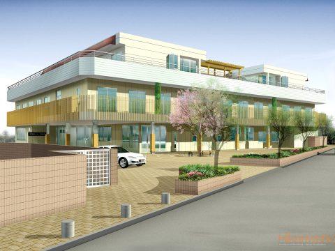 020-Building Exterior Rendering