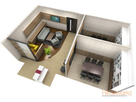 027-Office Rendering