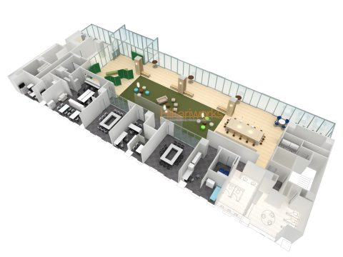048-Office Rendering