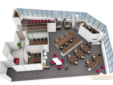 058-Office Rendering
