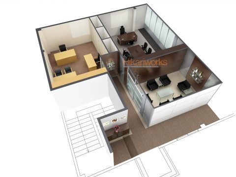 087-Office Rendering