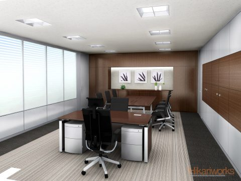 088-Office Rendering