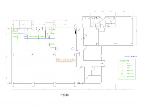 002-CAD drawing Ceiling Plan