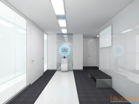 001-オフィス パース