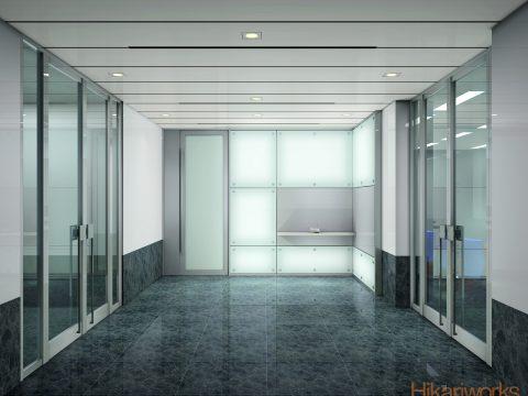 003-オフィス パース