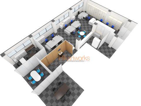 011-オフィス パース