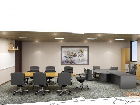 020-オフィス パース