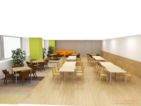 022-オフィス パース