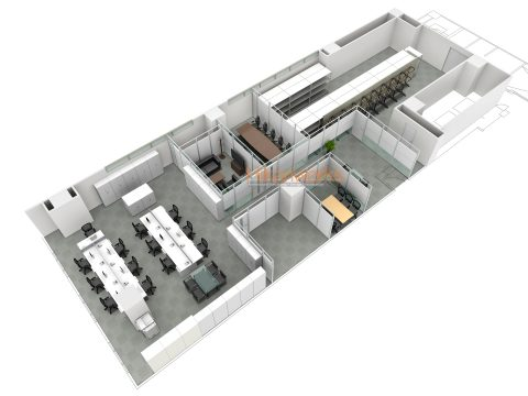 024-オフィス パース