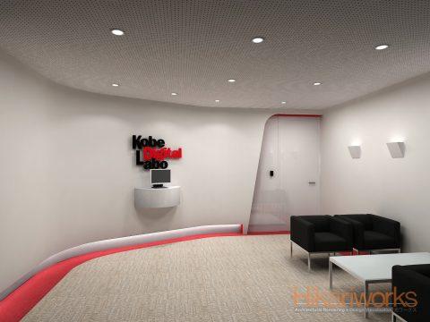 037-オフィス パース