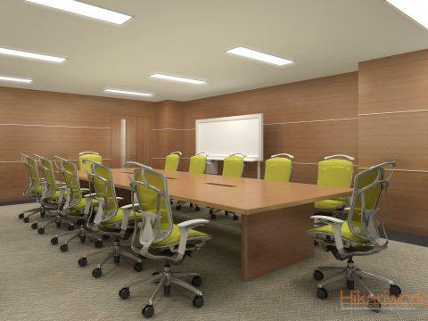 038-オフィス パース
