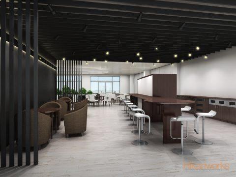 062-オフィス パース