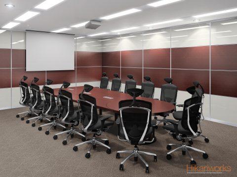 092-オフィス パース