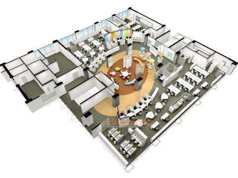 094-オフィス パース